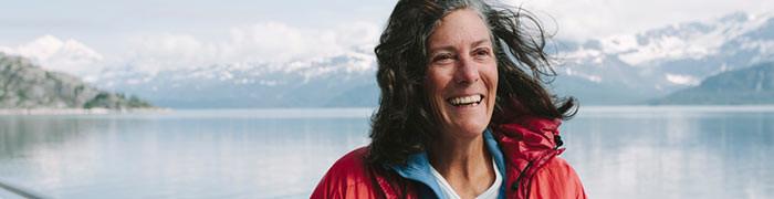 Warm Homeless Woman in Alaska