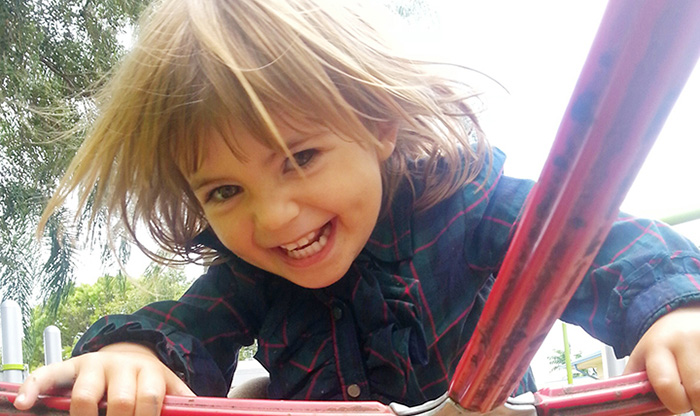 Kid on the Playground