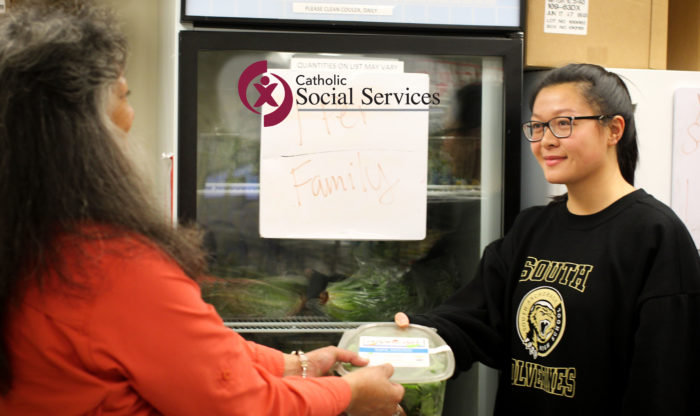 Volunteer at St. Francis House Food Pantry